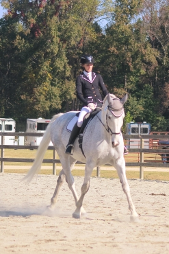 Briana and The Usual Suspect, 3rd place 2015 NCDCTA open 1st level championships