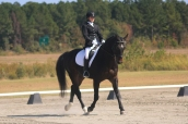 Natalie Horton and Cameron on their way to 3rd place NCDCTA 2nd level Jr/Yr Championships