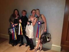NCDCTA HOY 2013- Lysa, Ellen, Briana and Michelle
