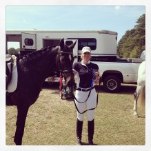 Michelle and Remember Me! Budget Friendly Dressage 2014
