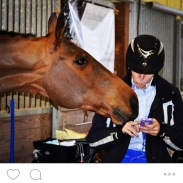 Popstarr wanting to check his scores out too, 2014