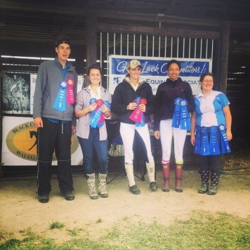 Prime Time Dressage 2015- Josiah, Natalie, Briana, Jordyn and Jennifer