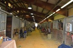 Occupying the entire barn isle in Williamston! :-P